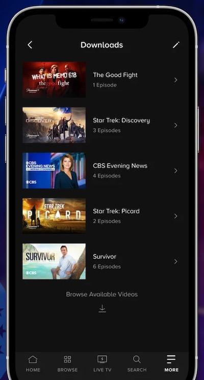 Download Paramount Plus Videos to Watch Offline